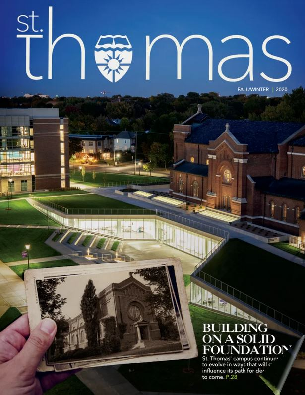 photo of St. Thomas Magazine Fall/Winter cover